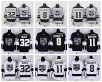 angeles c - Los Angeles Kings Jerseys New Anze Kopitar C Patch Jonathan Quick Drew Doughty Grey LA Kings Ice Hockey Jerseys Stitched Logos