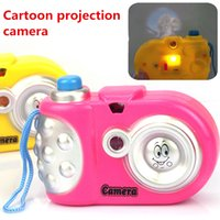 Wholesale 2016 New arrive Toy Cameras cm Baby Study Toy Kids Projection Camera Educational Toys for Children Kids Toys Gifts
