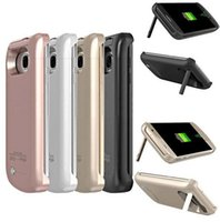 accumulator battery charger - 4200 mAh li ion External Battery Backup accumulator Charger Case Cover Pack Power Bank cases coque for samsung galaxy s7