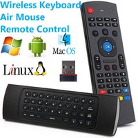 air receivers - 2 G Remote Controller Air Mouse Wireless Keyboard With USB Receiver Adaptefor Smart TV Android TV box mini PC HTPC V1100