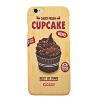 apple cake iphone - Vodex cases cup cakes apple water paste mobile phone shell embossed D feel iPhone5 p