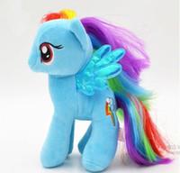 Wholesale 7 quot My Little Pony Plush toys designs U pick for Baby Girl Cartoon Super Quality plush Dolls Stuffed Toys Plush Animals