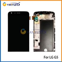 Wholesale LCD Display Touch Digitizer Complete Screen Panels Full Assembly With Frame For LG G5 H830 H840 H850 H868 LS992