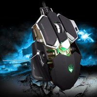 Wholesale USB Wired Gaming Mouse Professional Macros Mouse Optical Mice Adjustable DPI Buttons with Colors Light for Gamer