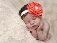 Headbands acting photos - Infant children lead the act the role of head Baby photos outdoors pearl flowers hair band