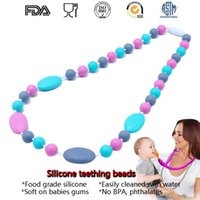 best nurses - Best Gfit Fashion PC Finished DIY Safety Silicone Baby Teething Nursing Necklace Jewelry For Baby Mommy