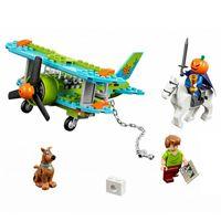 Wholesale Bela Scooby Doo Dog Mystery Plane Adventures Figures Building Block Shaggy Figures Elwood BL10429