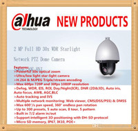 Wholesale DAHUA Security IP Camera Outdoor Camera MP Full HD x WDR Starlight Network PTZ Dome Camera IP66 without Logo SD65F230F HNI