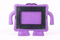 Wholesale Hot EVA Lovely D Cute crown Shape Kids Soft Foam Cover Case Standing holder for iPad mini