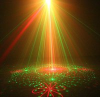 active lenses - 5 Lens Patterns RG Laser BLUE LED Stage Lighting DJ Show Light Green Red Home Professional Light