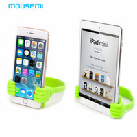 apple modeling - New Universal Stand Thumbs Modeling Cell Phone Smartphone Tablets Stand Bracket Holder for iPhone iPad Samsung s Phone Holder