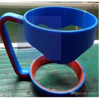 Wholesale 30oz Rambler Tumbler Cup Plastic Accessories Colorful Handles Black Blue Pink Color