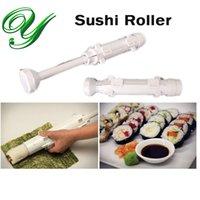 Wholesale Sushi Bazooka roller easy sushezi maker making kit set rice bento mold accessories sushi rolls nigiri mat nori seaweed tools kitchen machine