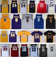 basketball jersey throwbacks - Men s Kobe Bryant Jersey Purple White Black Yellow Throwback Kobe Bryant Discount Lower Merion High School Basketball Jerseys