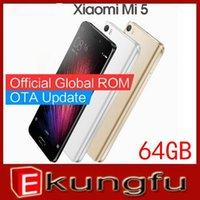 оптовых xiaomi phone-Оригинал Xiaomi Mi5 M5 Mi 5 Prime 64GB ROM Мобильный телефон Snapdragon 820 5,15