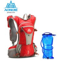 backpacks biking - AONIJIE Outdoor Sports Marathon Backpack Shoulder Belt Bag For Biking Cycling Traveling Camping Hiking With L Water Bag