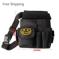 Wholesale Hardware Mechanic Electrician Canvas Tool Bag Utility Pocket Pouch Bag Thicker Section High Quality