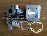 Wholesale 47mm big bore kit Cylinder Set with performance cylinder head for Suzuki AD50 Address AG50