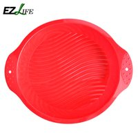 beautiful trays - Big and Beautiful Round Shape D Silicone Cake Mold Baking Tools Bakeware Maker Mold Tray Baking KT0565