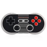 al por mayor xbox para pc-Nuevo 8Bitdo NES30 Pro inalámbrico Bluetooth Gamepad controlador de teléfono inteligente Dual Joystick clásico para iOS Android PC Mac pk xbox 360