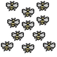 bee patch - Diy Bees patches for clothing iron embroidered patch applique iron on patches sewing accessories badge stickers on clothes bags