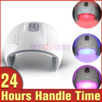 best spot treatment - Best Price LED Red Blue Infrared Light PDT Facial Care Skin Rejuvenation Spots Pimples Removal Beauty Lamp Machine