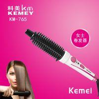 StraightCurly électrique brosse à cheveux Rapid Chauffage cheveux bigoudi ménage pas de blessure Cheveux Fer à friser pour les femmes