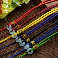 Wholesale 2017 Hot Styles Can match A variety of jade or other pendant Lobster Clasp rop Necklaces