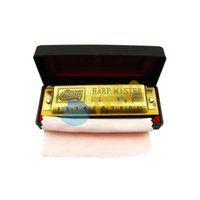 antique harmonicas - High Quality Hole Tone Harmonica Harp MASTER Huang Brand Antique Bronze