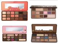 Wholesale HOT Makeup Chocolate Bar Eyeshadow palette semi sweet bonbons sweet peach Color Eye Shadow palette GIFT pc