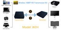 Le plus récent kit de transmission sans fil Full HD 1080P W2H vidéo, audio et transmission d'image à TVS, iphones et ordinateurs pour la réunion