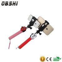 Wholesale Most Popular Handheld New Telescopic Bluetooth split stainless steel selfie stick