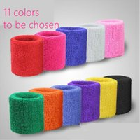 Wholesale Cotton Made Elastic Wrist Support Protective Safety Gym Bracers Sweatbands Sporting Outdoor Accessory
