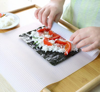 Wholesale Sushi Tools Silicone roll mat Food grade Sushi Camp Chef Sushezi Roller Kit DIY Best Selling Cooking Tools Easy to Use Cheap cm