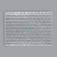 Wholesale 50 Multi Sizes Clear Bubble Bag Plastic Packing Pouch for Small Item Packaging Flat Open Top Width cm to cm Length cm to cm