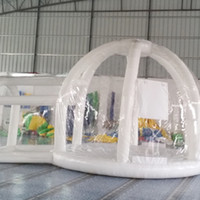 Wholesale 2016 fashion outdoor spherical inflatable bubble house transparent tent outdoor land show camping tent bubble house
