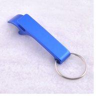 aluminum beverage bottles - Pocket Key Chain Beer Bottle Opener Claw Bar Small Beverage Keychain Ring Beer Opener Keychain WA1637
