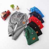 Wholesale New Hot Sale Children cotton pants Boys Girls Casual Pants Kids Sports trousers Harem pants