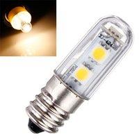 Wholesale Mini Bulb Lights E14 V SMD LED Warm White Small Lamp Bulb Bed Light Candle For Fridge Refrigerator Freezer Chandelier