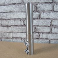 Wholesale Titanium Ti6AL4V AL2 V Mountain Bicycle Stem Extension Font Fork Lengthening Bar mm Diameter mm mm mm mm mm