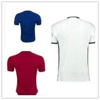 Wholesale best thai quality MancHEsSTERs IBRAHIMOVIC Pogba Rugby jerseys AWAY BLUE ROONEY MEMPHISs sMARTIAL unITED SHIRT