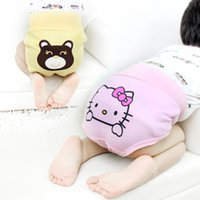 Wholesale The New Children s Underwear Cotton Baby Care His Pants Baby Pants A Child Of Tall Waist Abdomen Trousers