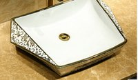 Wholesale Creative stage basin The stage basin Art basin Ceramic lavabo
