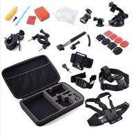 Wholesale Hot Gopro Accessories set in1 Float Bobber Handheld Stick gopro Chest Belt Head Strap For Gopro hero SJ4000
