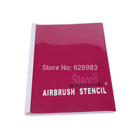 Wholesale Temporary Airbrush Tattoo Stencil Template Booklet designs of Animal series For Body Paint