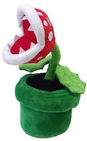 Wholesale pc Super Mario Piranha Plant Plush Doll Home Decor Flower Toys Kids Plush Plants Toys