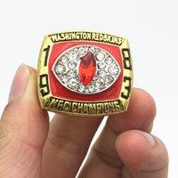 2017 regalos al por mayor del anillo del campeonato del mundo del Super Bowl 1983 de Redskins (más de 10pcs DHL liberan el envío)