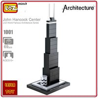 architecture ideas - LOZ ideas Mini Block John Hancock Center World Famous Architecture Series United States Mini Plastic Building Blocks Educational Toy