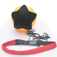 Wholesale One Football Soccer Kick Trainer Skills Practice Equipment Training Exercises Ball Tether NO BALL