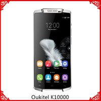 Wholesale Oukitel K10000 G Smartphone Inch Quad Core G RAM G ROM MAH Battery Fast Charger